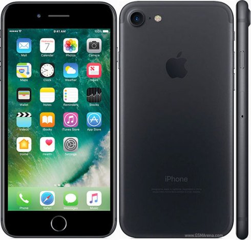 Apple iPhone 7 128 GB black (negru mat)